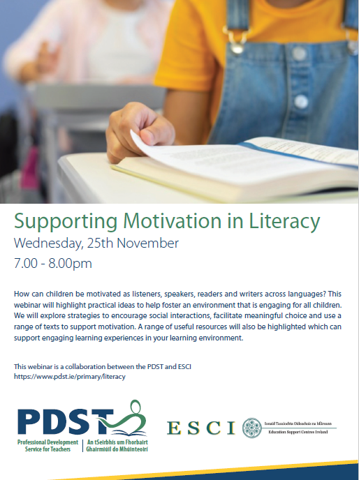 PDST Supporting Motivation in Literacy