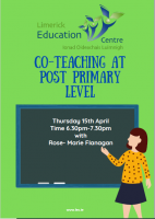Co-Teaching at Post-Primary Level