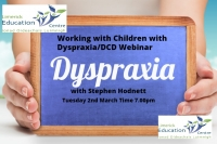 Working with Children with Dyspraxia/DCD: Strategies and advice for an inclusive classroom- A webinar for Teachers and SNAs